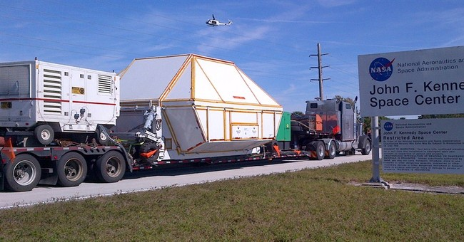 NASA's Orion spacecraft back in Florida after test flight