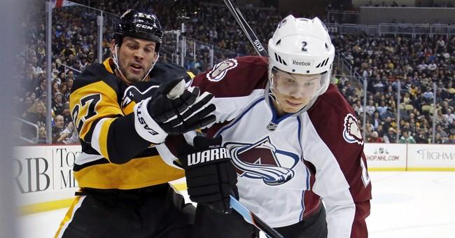Comeau leads Penguins over Avalanche 1-0, OT
