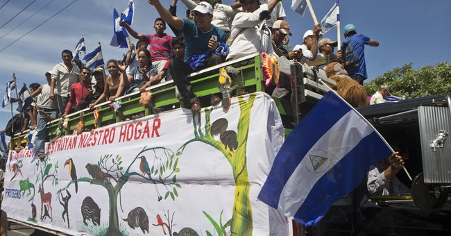 Nicaragua breaks ground on historic canal project