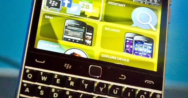 Blackberry posts 3Q adjusted profit,  revenue down