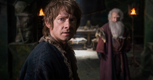 'Hobbit' goes out on top with $90.6 million 5-day debut