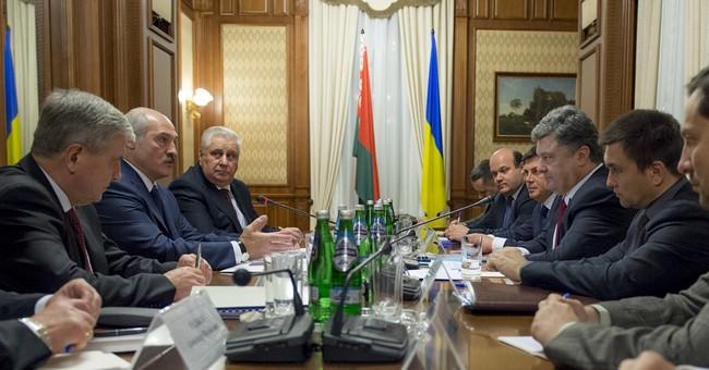 Belarus' president promises help for Ukraine