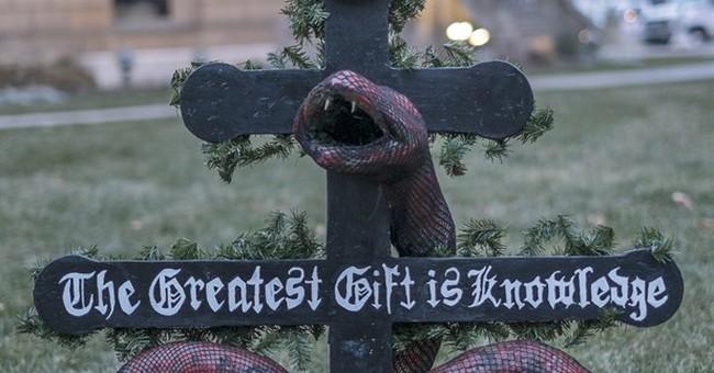 Satanic Temple puts up display at Michigan Capitol