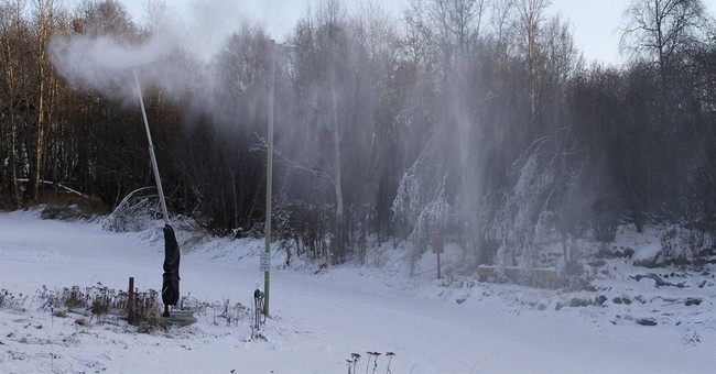Weird weather lingers in Alaska's largest city