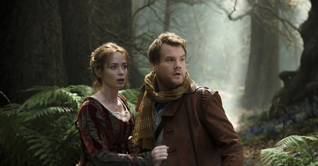 Review: A charming cast anchors the dark 'Into the Woods'