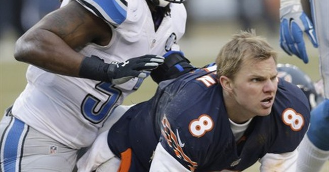 Cutler to start finale for Bears with Clausen out