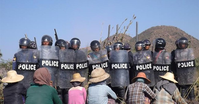 Woman fatally shot at Myanmar mine protest