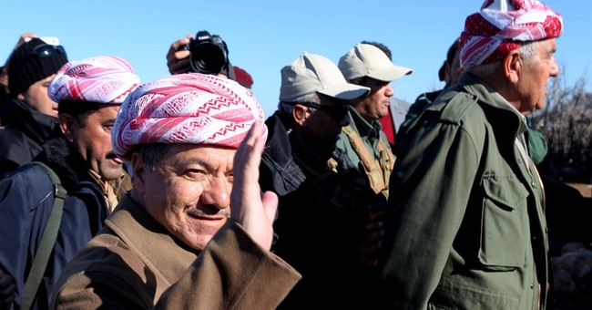 In IS-held town, Iraqi Kurds face heavy resistance