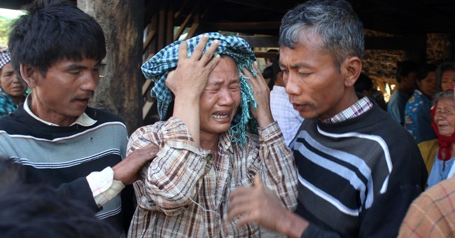 Myanmar villagers remain in standoff over mine