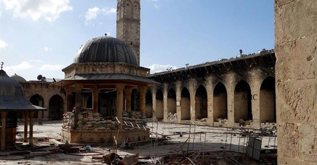 Satellite images show damage to Syrian cultural sites