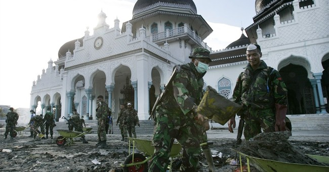 Tsunami survivors recall how mosques stood firm