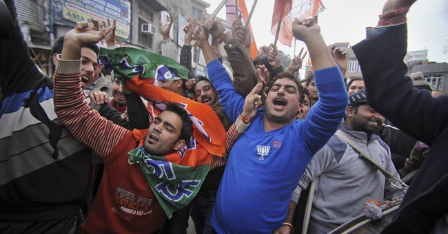 India's ruling party makes big gains in Kashmir