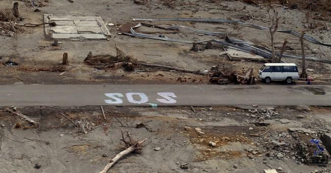 AP PHOTOS: A look back at the tsunami