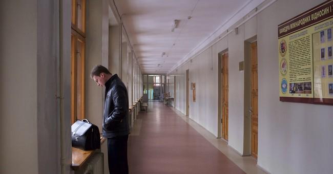 Ukraine's rebel university goes Russian