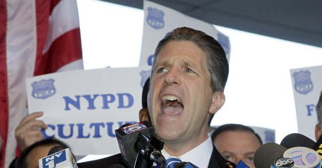 NY police union leader well known for his bite