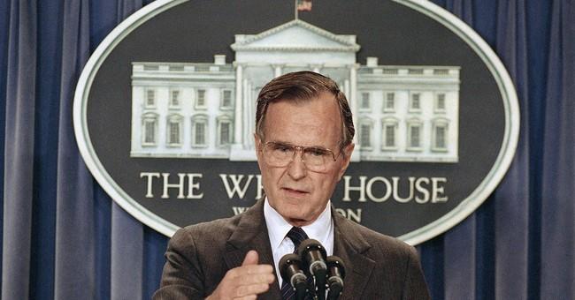 Ex-President George H.W. Bush to stay hospitalized