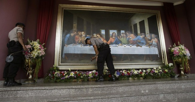 Image of Asia: Jakarta church checked before Mass