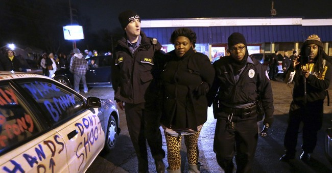 More protests sparked after shooting near Ferguson