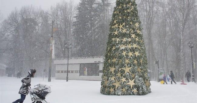 Snowstorm in Moscow delays over 150 flights