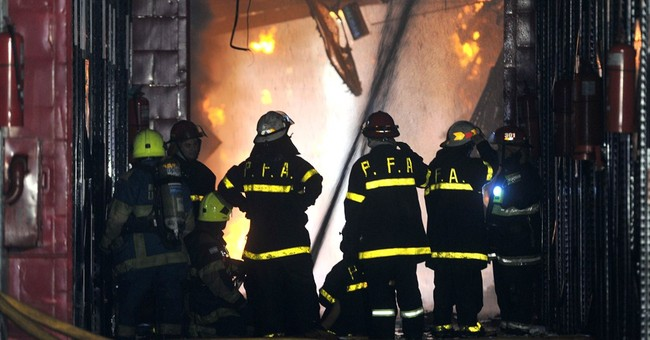 9 die in fire destroying Argentine bank archives
