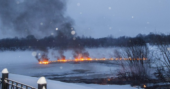 Railcar inferno on Russia's Trans-Siberian Railway
