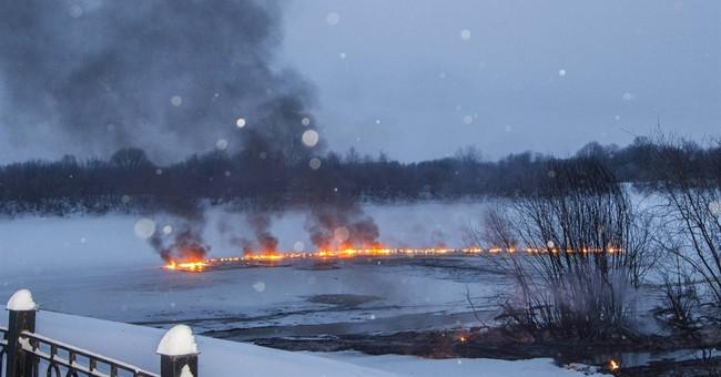 Railcar inferno on Russia's Trans-Siberian Railway