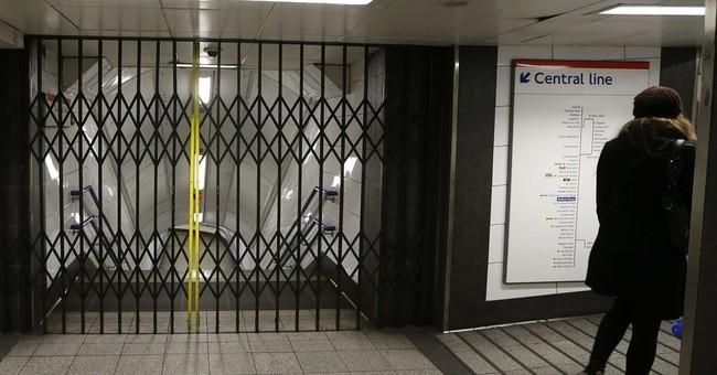 Delays, disruption, drudgery hit London commuters