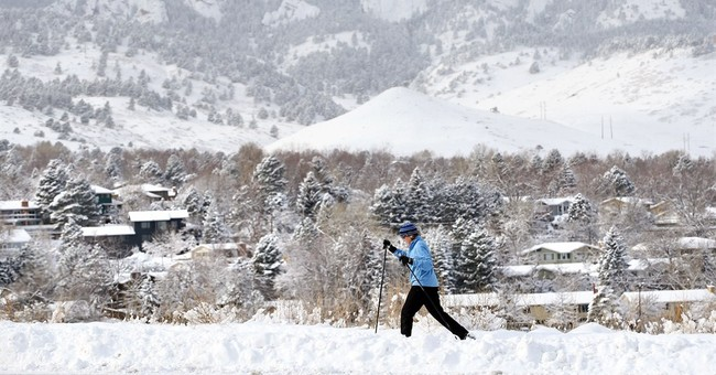AP PHOTOS: Winter weather turns the West white