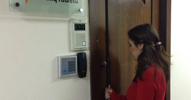 Azerbaijan police raid US-funded radio station
