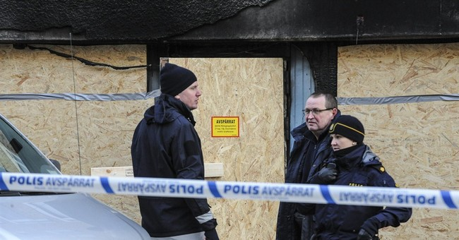 Arson attack on Swedish mosque injures 5
