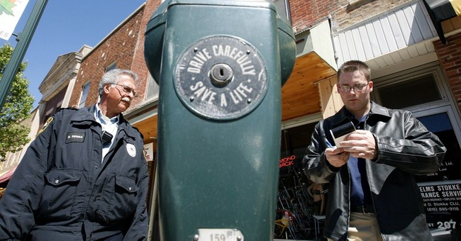 Penny parking thriving in small Illinois town