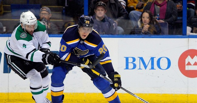 Daley, Demers lead Stars over Blues 4-3