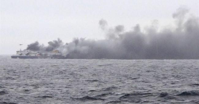 Ferry passengers recount chaos: No fire alarm, just smoke