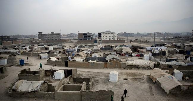 Afghans fleeing war now face brutal winter