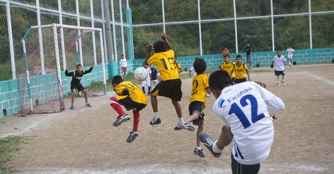 Honduras kids see better life on soccer field