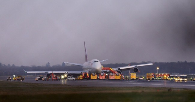 Virgin Atlantic plane in Gatwick emergency landing