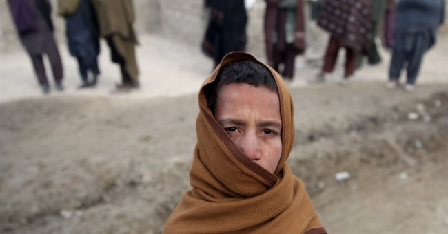 Afghans fleeing war now face brutal winter