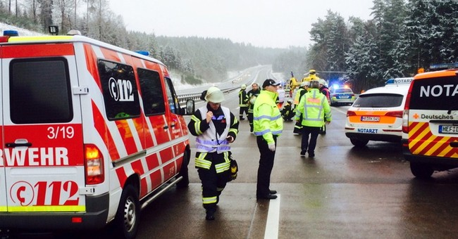 At least 4 killed in Germany bus crash