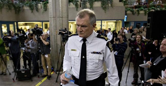 Canada police: 9 dead in 3 crime scenes