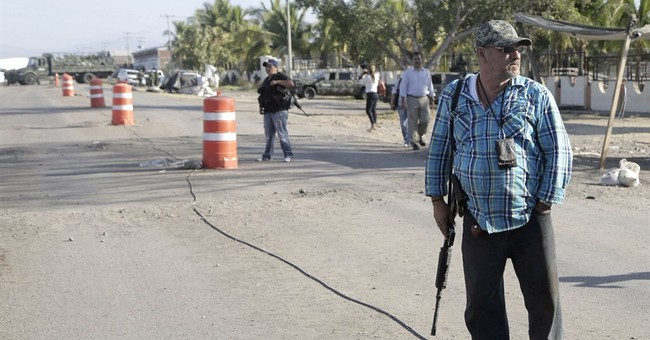Mexican self-defense members turn themselves in