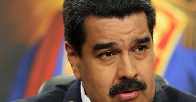 Venezuela's president blames opposition for deep recession