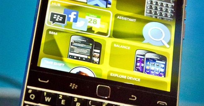 Review: IPhone user tries to go back to BlackBerry