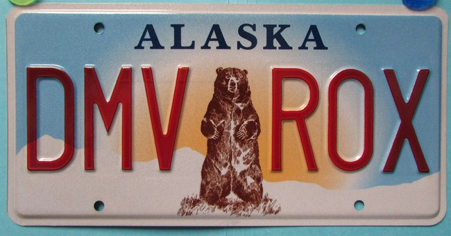 Alaska prepares to offer grizzly license plates