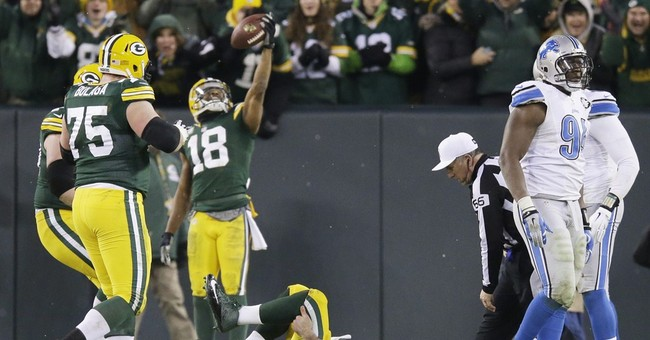 Packers' Aaron Rodgers confident injured calf will improve