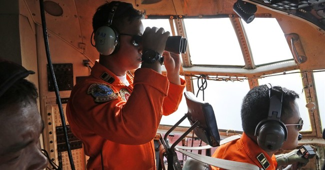 Java Sea plane search: monsoons, murkiness, trash