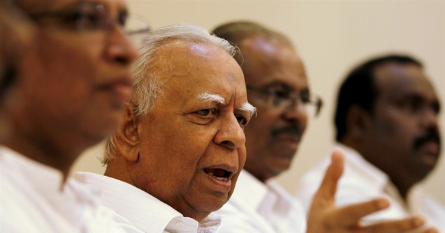 Sri Lankan Tamil party backs opposition for president