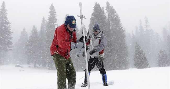 California snow survey shows higher snowpack