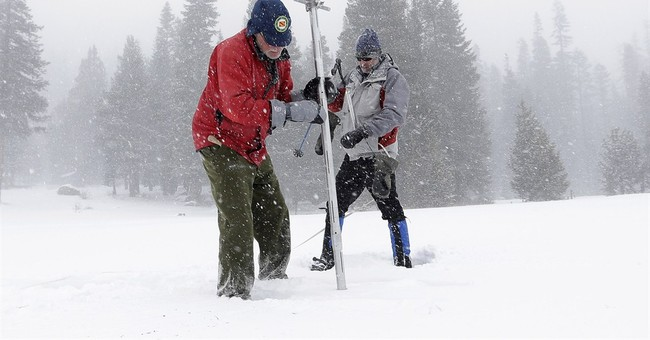 California snow survey shows higher snowpack