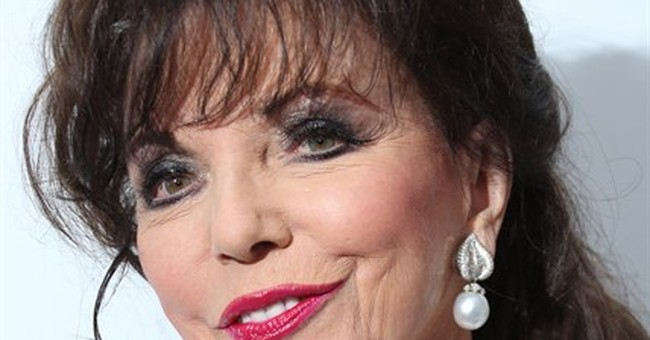 'Dynasty' dame: Joan Collins honored by queen