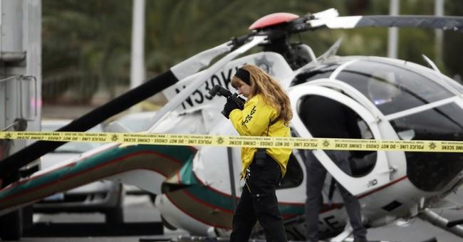 Correction: Police Helicopter Crash-Vegas story